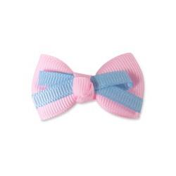 Sponka Double Bow - růžová Ispet