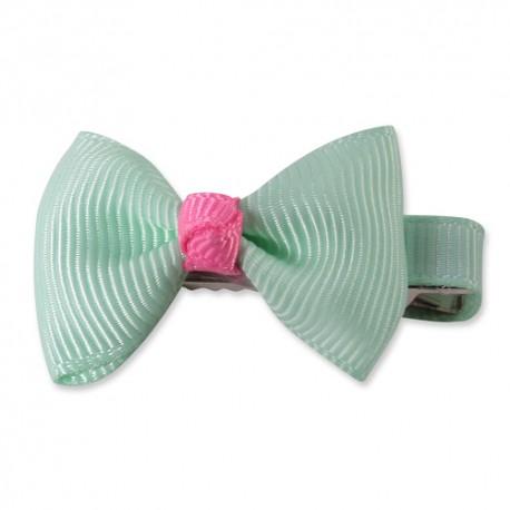 Sponka Lovely Bow - zelená ISPET