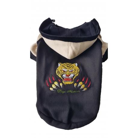 Mikina Fight Tiger černá