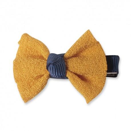 Sponka Luxury Chiffon - žlutá ISPET