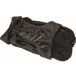 Zimní kabát s fleecovou vložkou ALL BREED černý