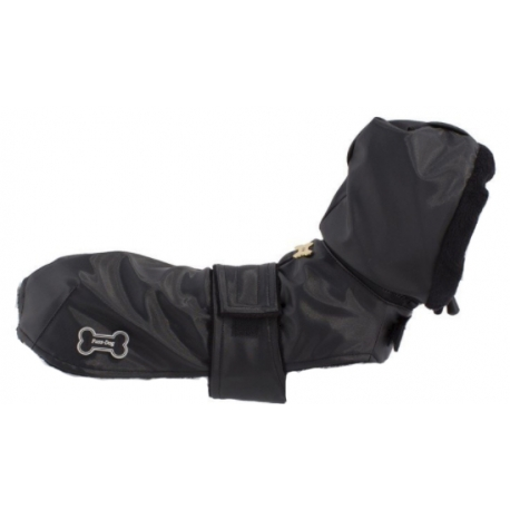 Zateplený kabát Bone černý
