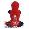 Teplákový overal Spiderman červený
