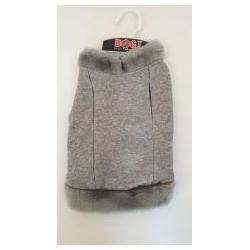 11fdc1a8193 Zimní kabátek šedý