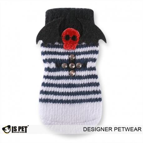 Ponožky ISPET tm. modré s bílým proužkem