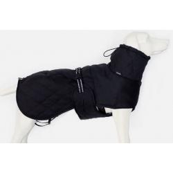Luxusní zimní kabát pro velké a atypycké plemena Calgary černý