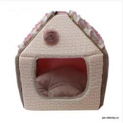 Luxusní Domeček Romantic Dreams krémově růžový