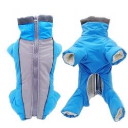 Zimní kombinéza Aspen modrá - střih pro kluky