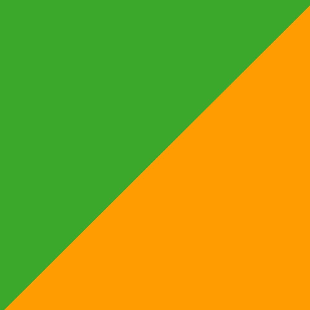 Oranžovo/Zelená