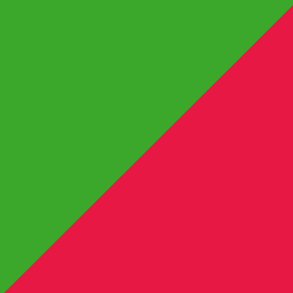 Červená/Zelená