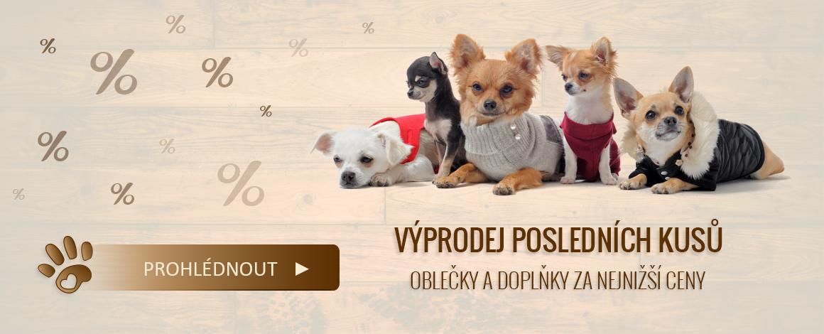 Výprodej psí oblečky